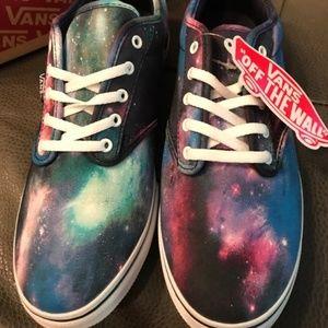 Galaxy Vans Atwood Low Sneakers🌌👟